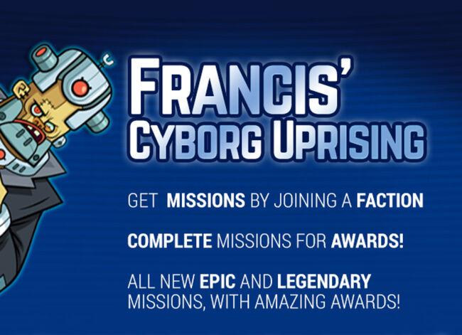 Francis' Cyborg Uprising