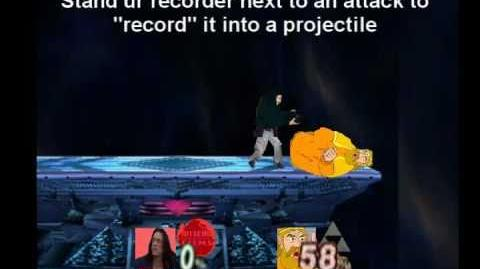 Smash Bros Brawl Character Moveset - Tommy Wiseau
