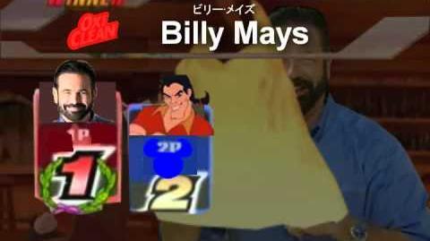 Smash Bros Lawl Character Moveset - Billy Mays