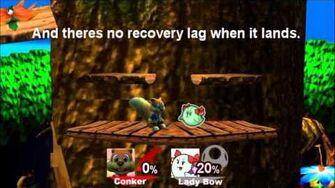 Smash bros Brawlorrhea Character moveset - Conker