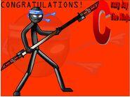 Crazy jay congratulations