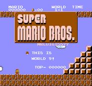 Kopia Super Mario Bros - MrLuigi5577s levels (SMB Hack) - World 9 001
