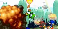 Heroes vs. Mecha Sonic 1