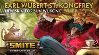SMITE - New Skin for Sun Wukong - Earl Wubert St. Kongfrey