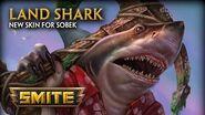 SMITE - New Skin for Sobek - Land Shark