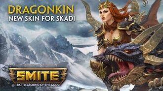 SMITE - New Skin for Skadi - Dragonkin
