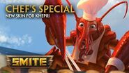 SMITE - New Skin for Khepri - Chef's Special