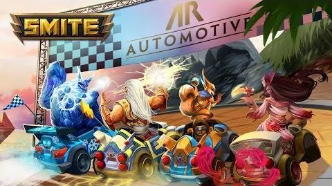 SMITE - New Adventures - Apollo's Racer Rumble