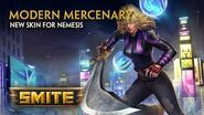 SMITE - New Skin for Nemesis - Modern Mercenary