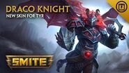SMITE - New Skin for Tyr - Draco Knight
