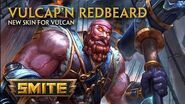SMITE - New Skin for Vulcan - Vulcap'n Redbeard