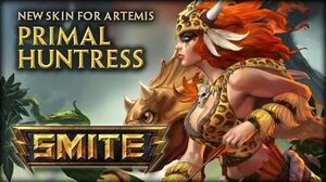 New Artemis Skin Primal Huntress