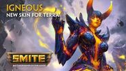 SMITE - New Skin for Terra - Igneous