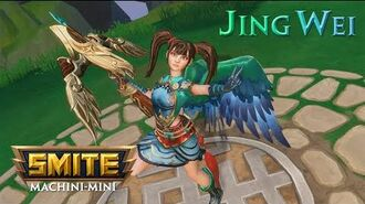 SMITE Machini-mini Jing Wei, The Oathkeeper