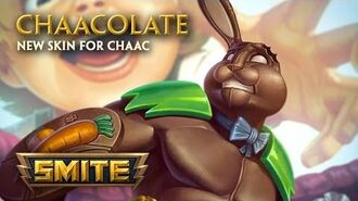 SMITE - New Skin for Chaac - Chaacolate