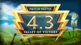 SMITE Patch Notes VOD - Valley of Victory (Patch 4.3)