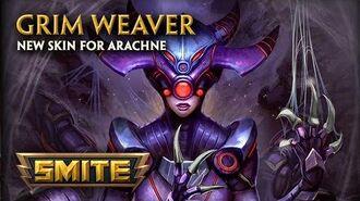 SMITE - New Skin for Arachne - Grim Weaver