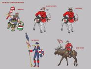Canada Day Skin concepts