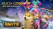 SMITE - New Skin for Skadi - Such Cold