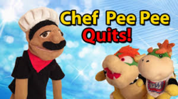 Chef peepee quits