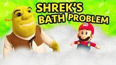 SML Movie Shrek's Bath Problem!
