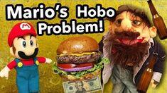 SML Movie Mario's Hobo Problem!