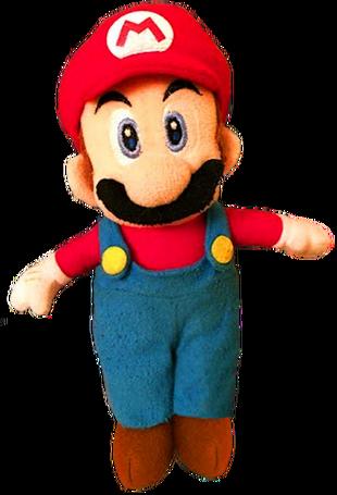 how to make plush mario characters