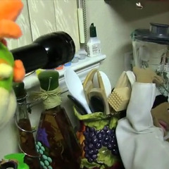 Bowser Junior looking at an unconscious Chef Pee Pee.