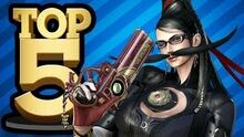 Top 5 Video Game Moustaches