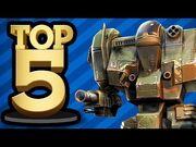 Top 5 Mech Video Games