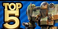 Top 5 Mech Video Games