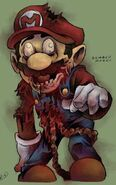 Zombie-super-mario-game-character-fan-art-re-design-zombified-nintendo-by jeffyp