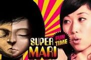 Creepy face with mari