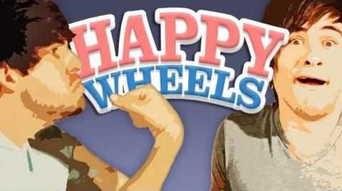 SMOSH PLAYS HAPPY WHEELS (Gametime with Smosh)