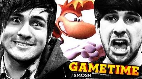 KILLING OLD MEN IN RAYMAN (Gametime with Smosh)