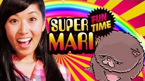 TECHNO KITTEN STRIKES WITH COLORS (Super Mari Fun Time)