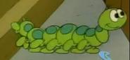 Nat butterfly as a caterpillar