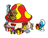 Jokey Smurf Hut SV
