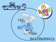 The Smurfs 2 happy meal hefty