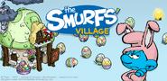 Grouchy Smurf Banner SV