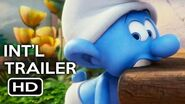 Smurfs The Lost Village Official International Trailer 1 (2017) Animated Movie HD
