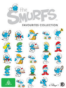 SmurfsFavouritesCollectionDVDcover