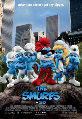 File:Smurfs 2011 movie poster.jpg