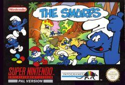 The Smurfs SNES