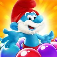 Papa Smurf Icon SBS