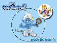 The Smurfs 2 happy meal vanity