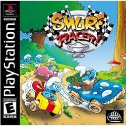 Smurf Racer Game Box
