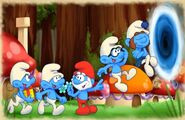 Smurfs 2 Game Jump Into The Portal