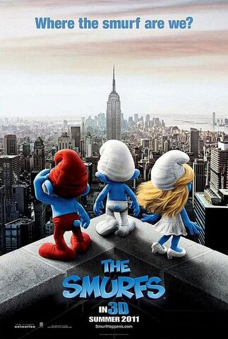 File:Smurfs Movie Poster 2.jpg