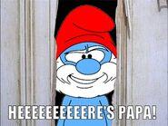 Papa Smurf's The Shining Parody